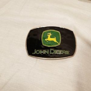 John Deer Belt Buckle